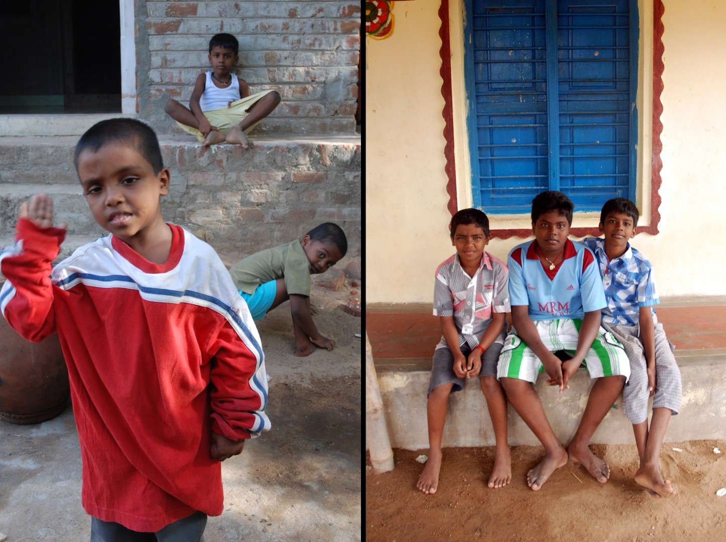 Cousin-brothers, best friends or both? Nagalingam, Shankar and Vishwanathan in 2008 and in 2014